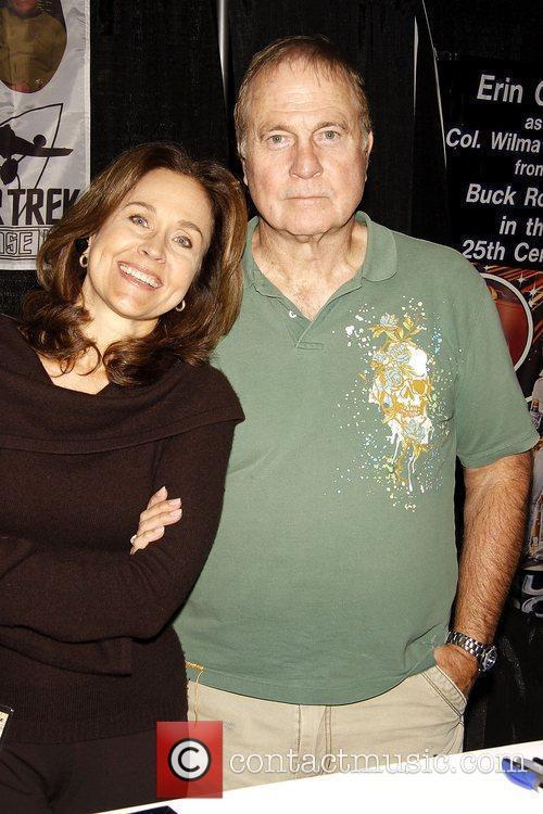 Erin Gray and Gil Gerard