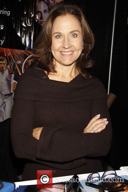 Erin Gray Big Apple Comic Con 2009 at...