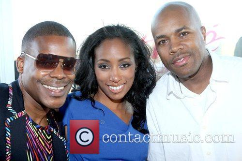 Mario Wilson, Michelle Murray and DJ D-Nice Launch...