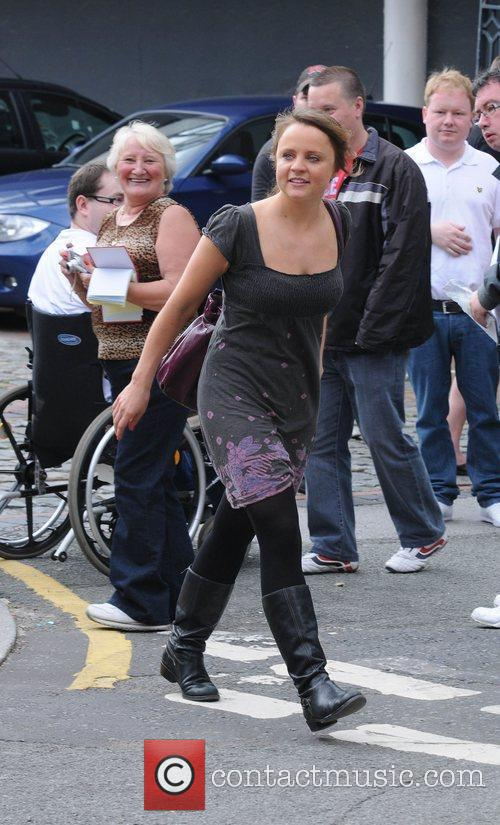 Vicky Binns who plays Ollie Reynolds in British...