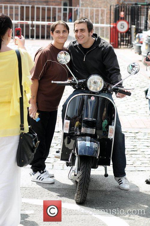 Chris Gascoyne The cast of 'Coronation Street' arrive...