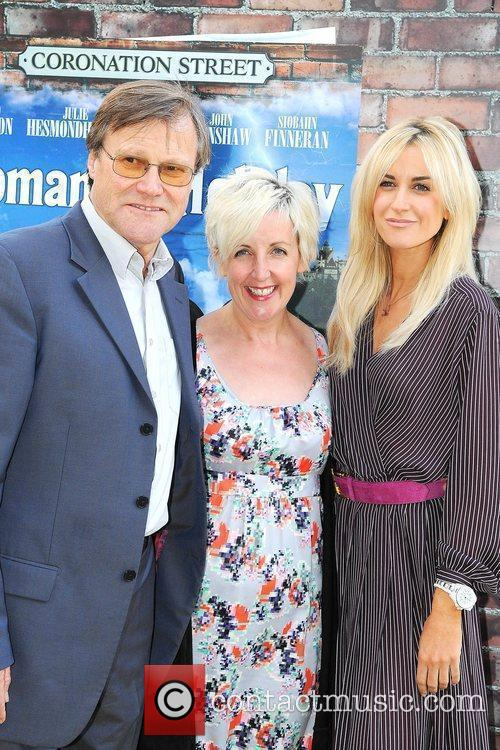Julie Hesmondhalgh, David Neilson and Katherine Kelly 'Coronation...