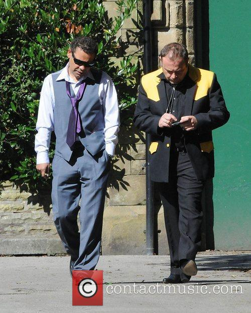 Craig Charles and John Thomson The cast of...