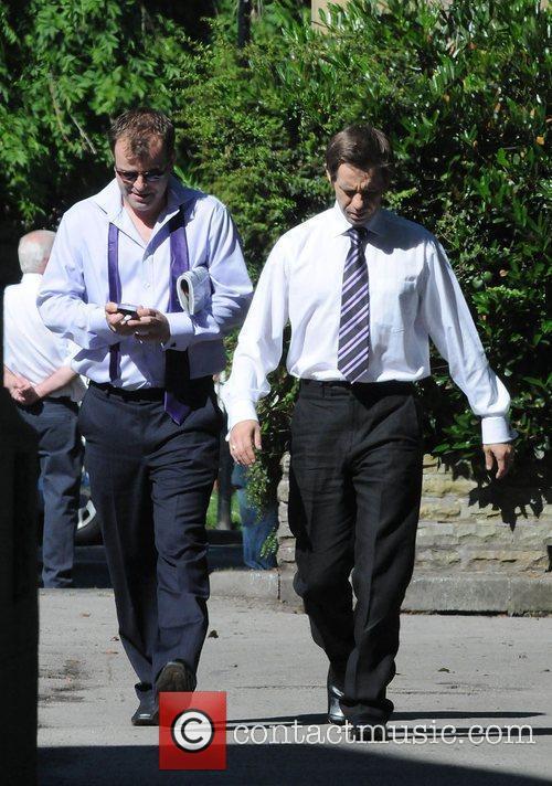Simon Gregson and Nicholas Cochrane The cast of...