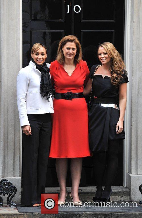 Kimberly Walsh, Sarah Brown, Jessica Ennis Cosmopolitan Women...
