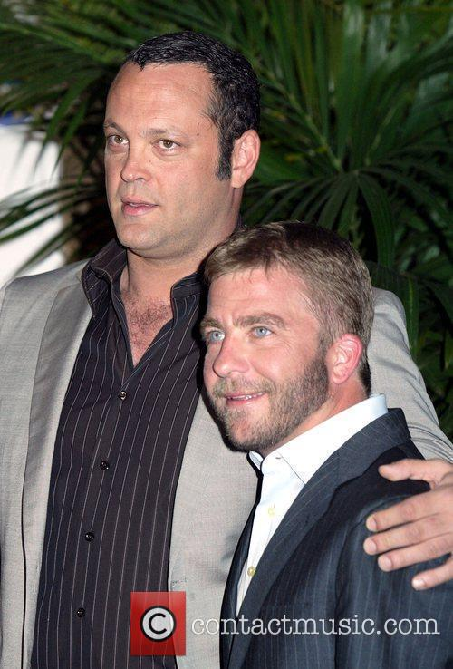 Vince Vaugh and Peter Billingsley The Australian premiere...