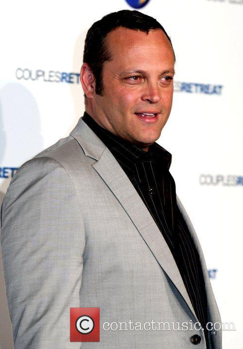 Vince Vaughn The Australian premiere of 'Couples Retreat'...
