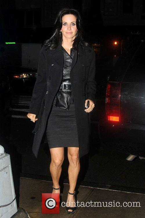 Courteney Cox and David Letterman 2