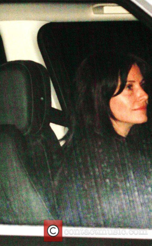 Courtney Cox at Sunset Towers Hotel in West...