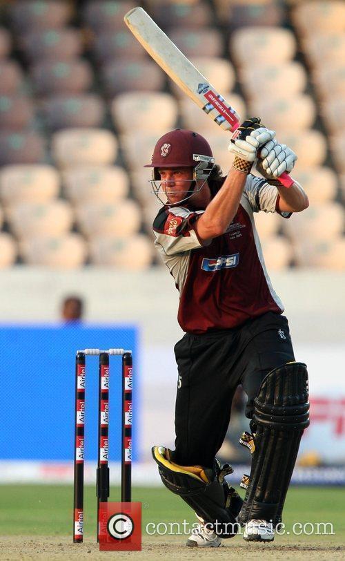 Somerset Batsman James Hildreth in action During The...