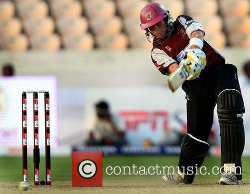 Somerset Batsman Wes Durston in action During The...