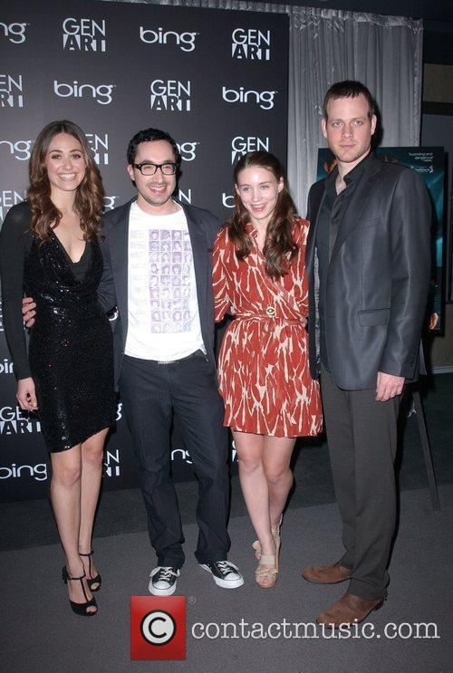 Emmy Rossum, David Brind, Rooney Mara and Adam Salky 11