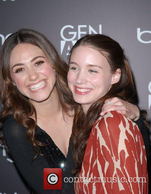 Emmy Rossum and Rooney Mara 10