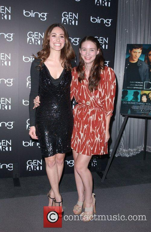 Emmy Rossum and Rooney Mara 4