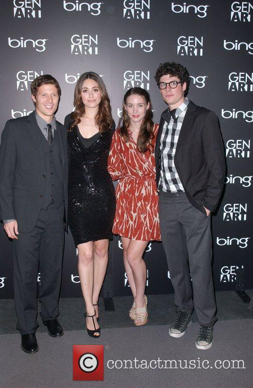 Zach Gilford and Emmy Rossum 1