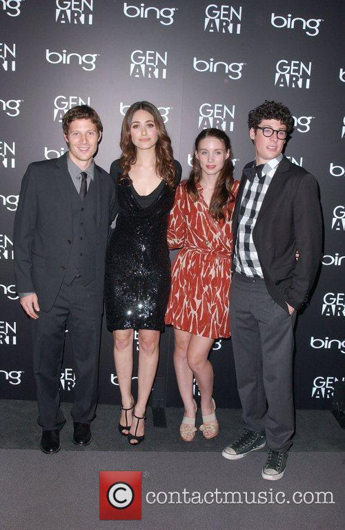 Zach Gilford and Emmy Rossum 2
