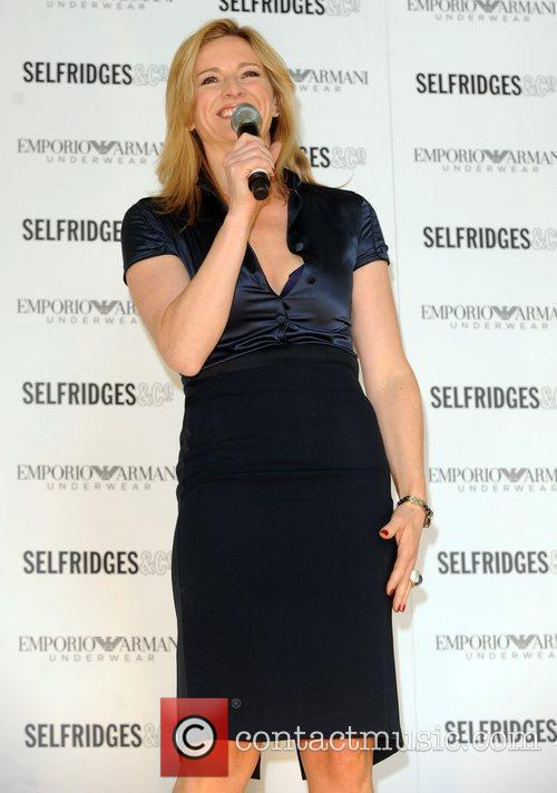 During an In-store appearance at Selfridges department store