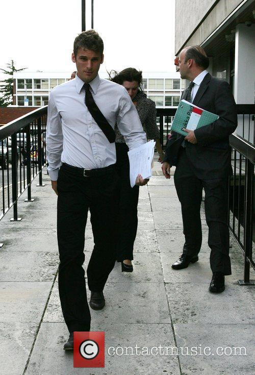 Leaves St Albans Magistrates' Court after being sentenced...