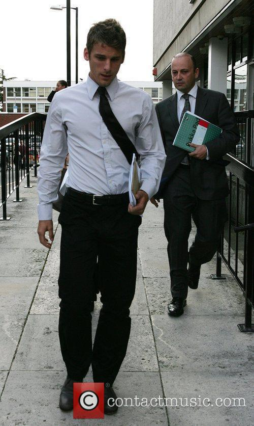 David Bentley leaves St Albans Magistrates' Court after...