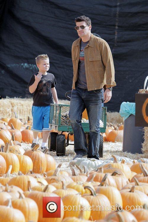 'Bones' star David Boreanaz takes his son, Jaden...