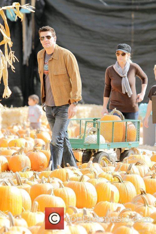 'Bones' star David Boreanaz, his wife, Jaime Bergman,...
