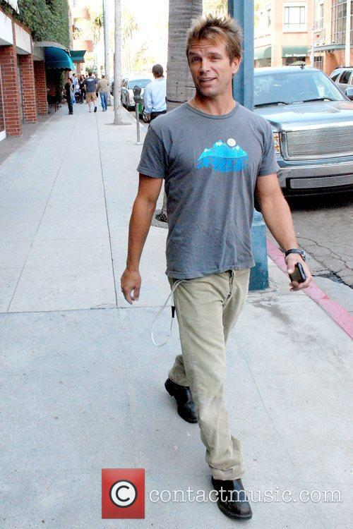 Former 'Baywatch' star out and about in Beverly...