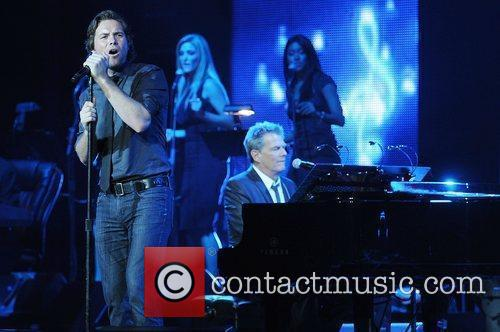 Michael Johns David Foster And Friends perform in...
