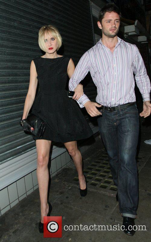 Kimberly Stewart and David Walliams 4