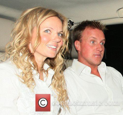 Geri Halliwell and her boyfriend Henry Beckwith Celebrities...