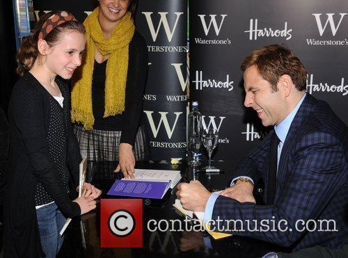 David Walliams  attendS the book signing of...
