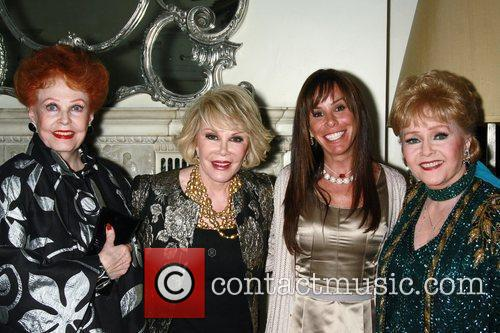 Arlene Dahl, Debbie Reynolds, Joan Rivers