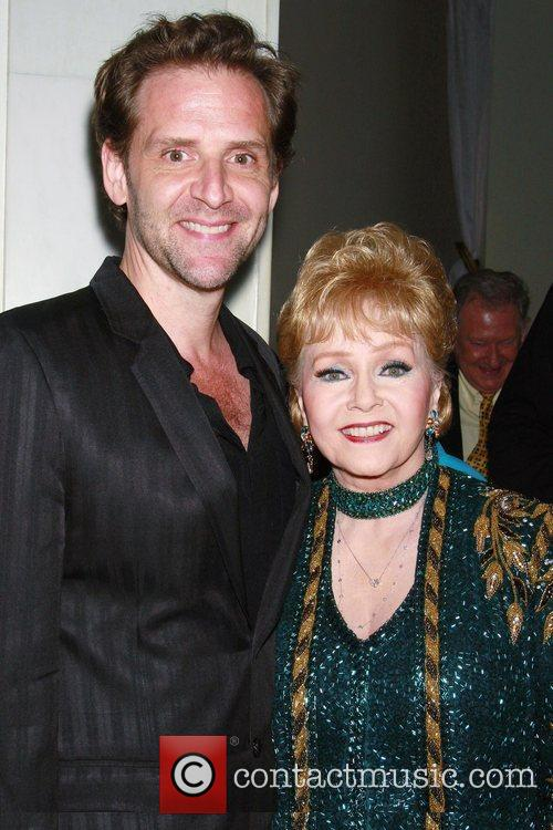 Malcolm Gets and Debbie Reynolds