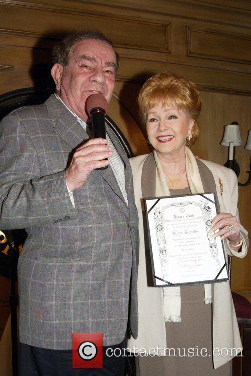 Freddie Roman and Debbie Reynolds 1
