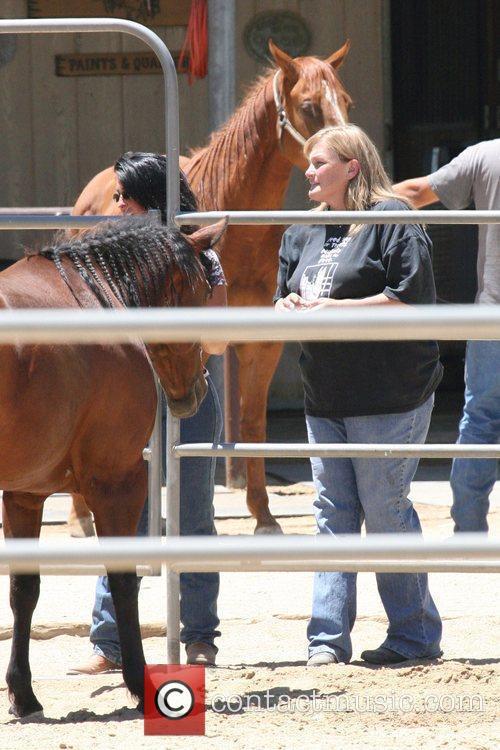 Debbie Rowe Horses