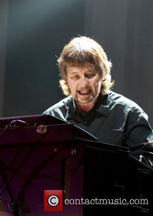 Don Airey  Deep Purple performing at Manchester...
