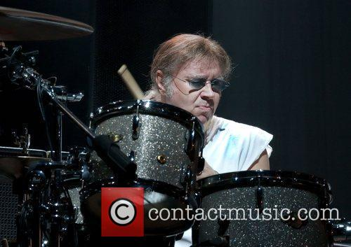 Ian Paice Deep Purple performing at Manchester Apollo...
