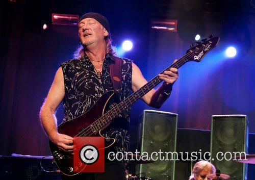 Deep Purple performing at Manchester Apollo on the...