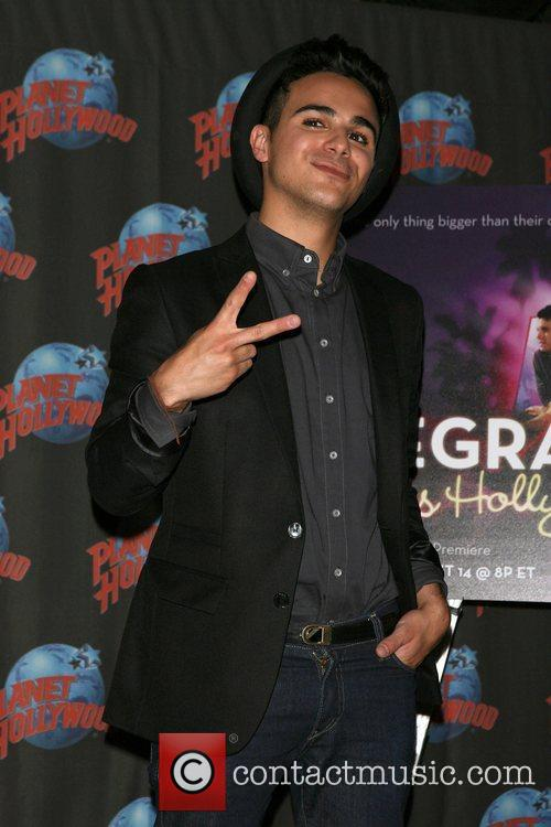Adamo Ruggiero The launch of 'Degrassi goes Hollywood'...