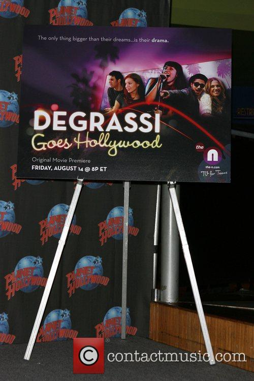 Atmosphere The launch of 'Degrassi goes Hollywood' held...