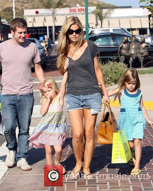 And her daughters Sam and Lola shopping at...