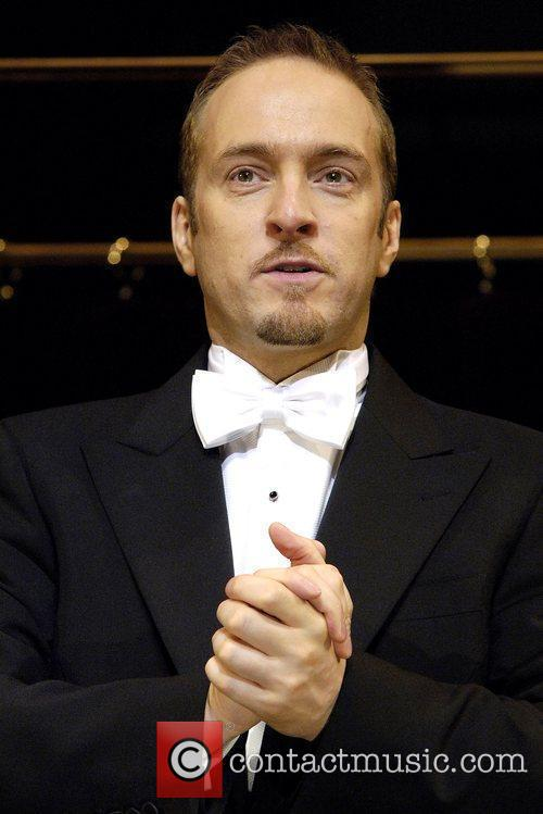 Derren Brown attends a photocall for his show...