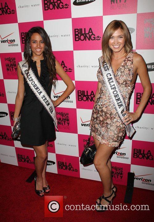 Chelsea Gilligan and Miss California 2