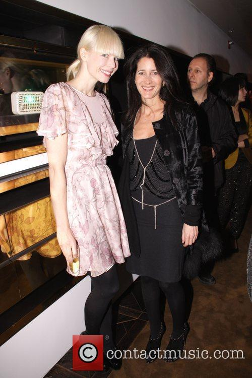 Erin Fetherston and guest Devi Kroell store opening...