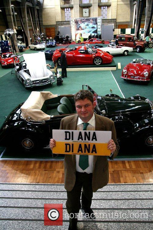 Coys auctioneers with Diana numberplate expected to sell...