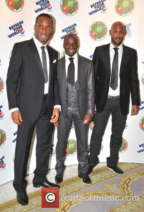 Claude Makalele, Nicolas Anelka, Didier Drogba The Didier...
