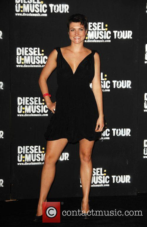 Holly Davidson 'Diesel U Music' World Tour Party...