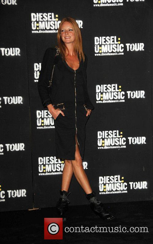 Olivia Inge  'Diesel U Music' World Tour...