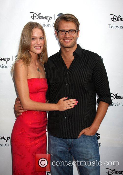 Johann Urb and wife Erin Axtell Disney's ABC...