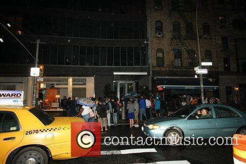 Atmosphere outside the New York City apartment where...
