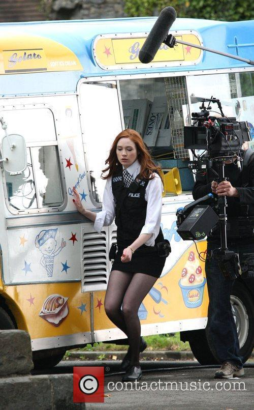 Karen Gillen and Doctor Who 5